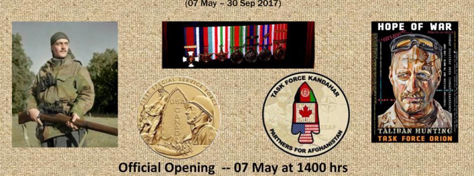 Canada 150: West Novas in Peace and War Museum Exhibit